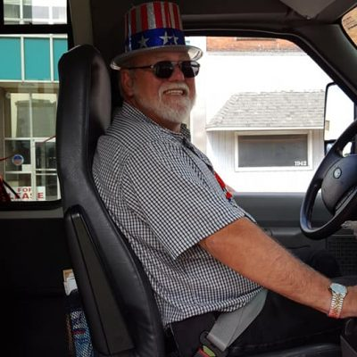 Your Driver for July 4th Mr Lee